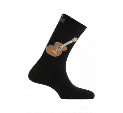 Chaussettes modèle Guitares en coton
