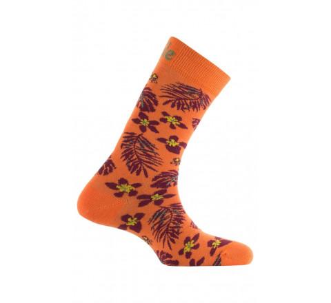 Chaussettes thème Tropical en coton
