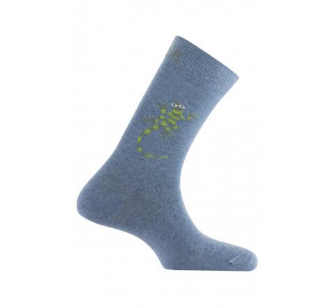 Mi-chaussettes Gecko en coton