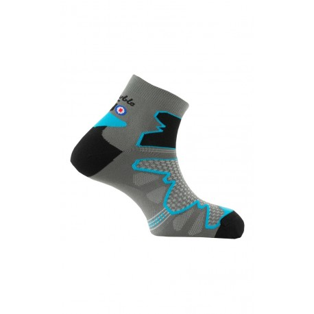 Chaussettes Double Trek Mid en microfibre Dryarn made in France