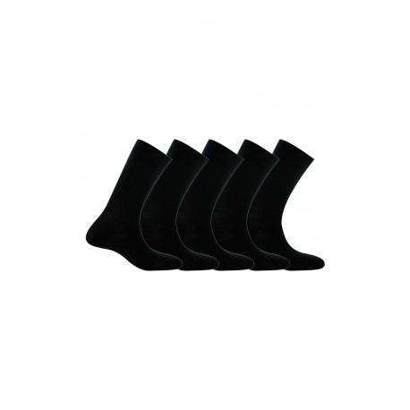 Lot de 5 paires de chaussettes en pur coton