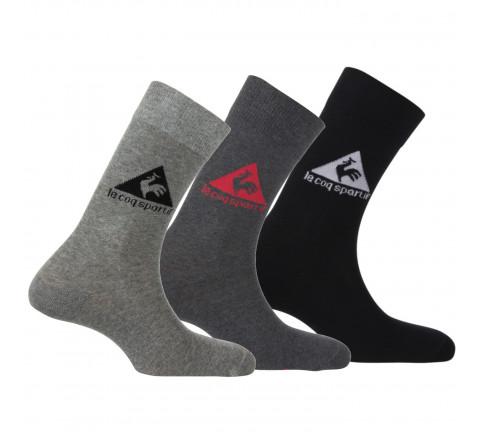 Packs de 3 paires de chaussettes de sport Le Coq Sportif