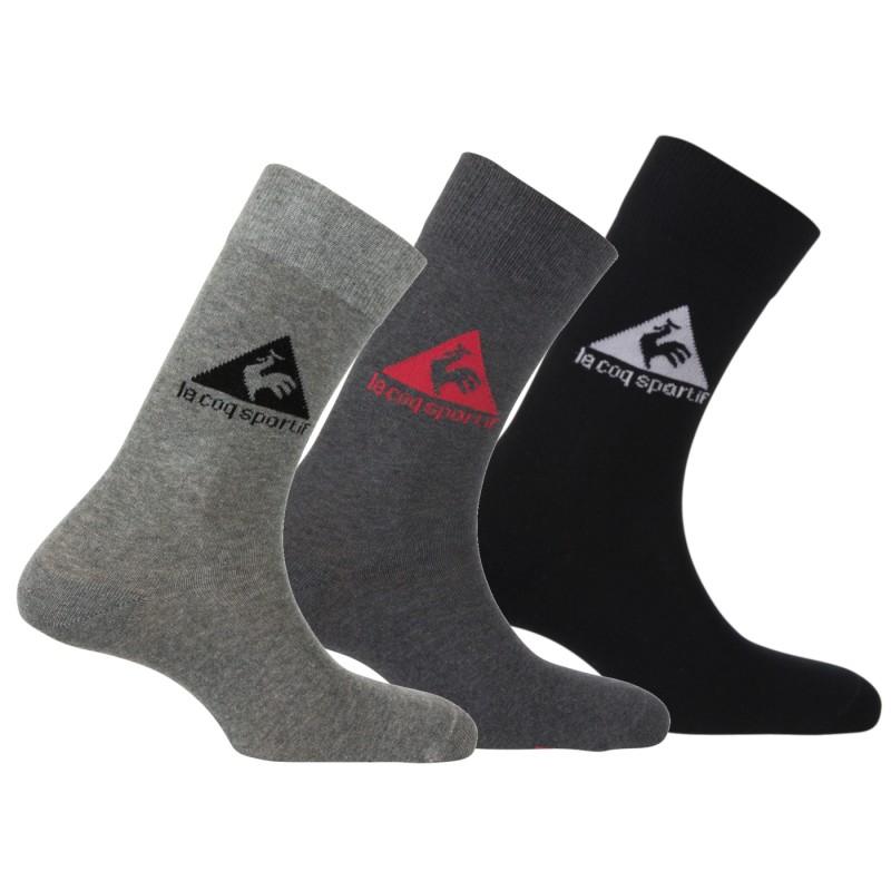 c351aa9b46b Packs de 3 paires de chaussettes de sport Le Coq Sportif. Loading zoom