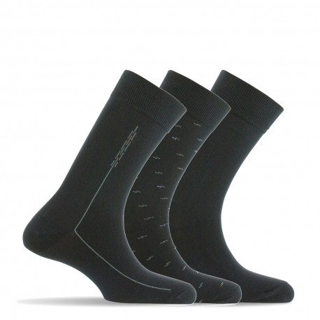 Pack 3 paires de chaussettes made in France
