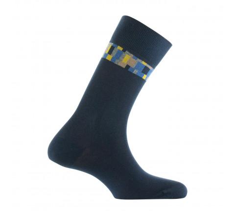 Mi-chaussettes bracelet coton fabriquées en France
