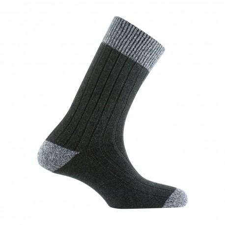 Chaussettes à côtes en coton