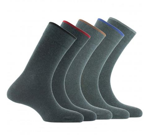 Lot de 5 paires de chaussettes en coton
