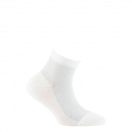 Socquette en coton et rayures en lurex MADE IN FRANCE