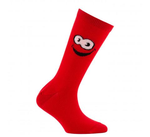 Mi-chaussettes sourire en coton