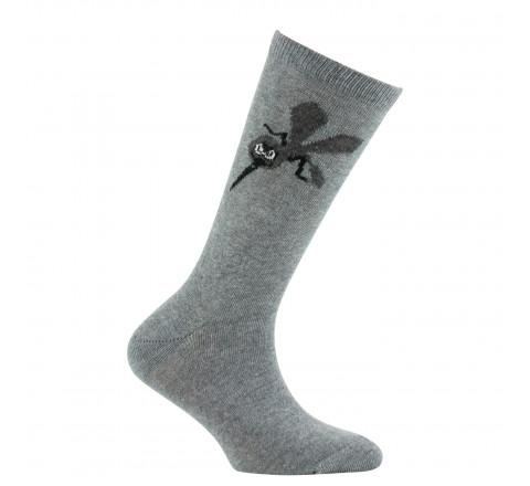 Mi-chaussettes Mousquito en coton