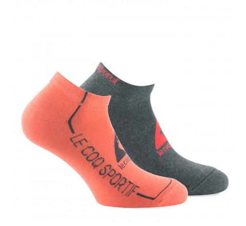 Lot de 2 paires d'invisibles Le Coq Sportif