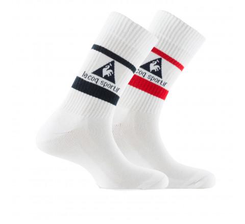 Lot de 2 paires de mi-chaussettes Le Coq Sportif